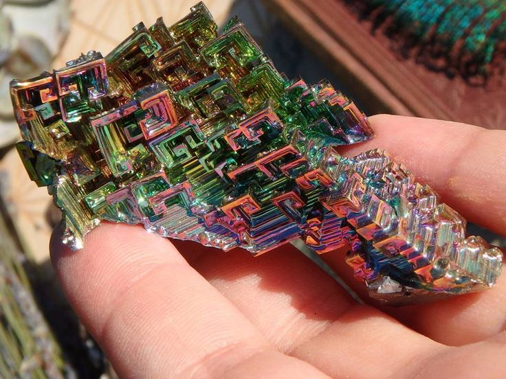 *LARGE INTERGALACTIC RAINBOW BISMUTH SPECIMEN* AVAILABLE For SALE HERE: http://www.earthfamilycrystals.com/large-intergalactic-rainbow-bismuth-specimen