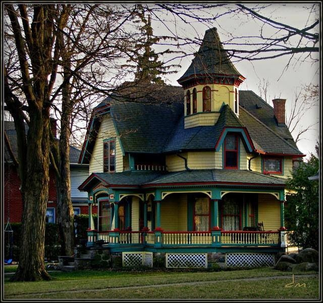 Pin by jeanine yates on victorian houses pinterest for New victorian homes