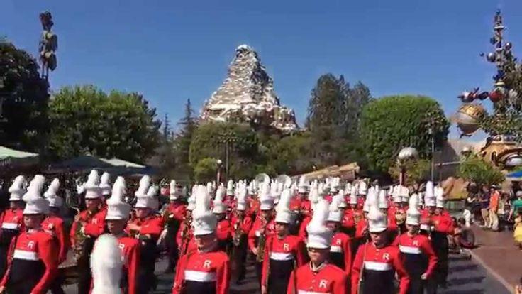 Redwood Viking Marching Band at Disneyland