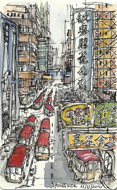Mongkok, Hong Kong by Paul Wang