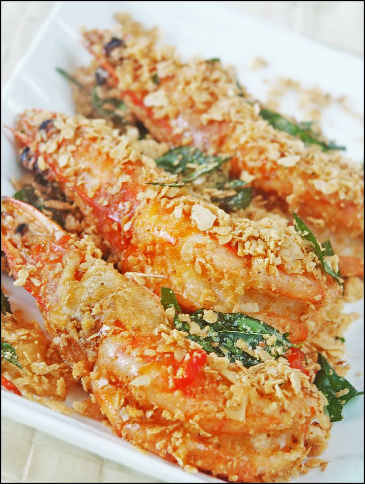 kitchen tigress: How to Make Cereal Butter Prawns