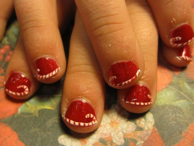 213 best nail art images on pinterest christmas nails nail christmas nail art designs best christmas nail paint designs prinsesfo Image collections