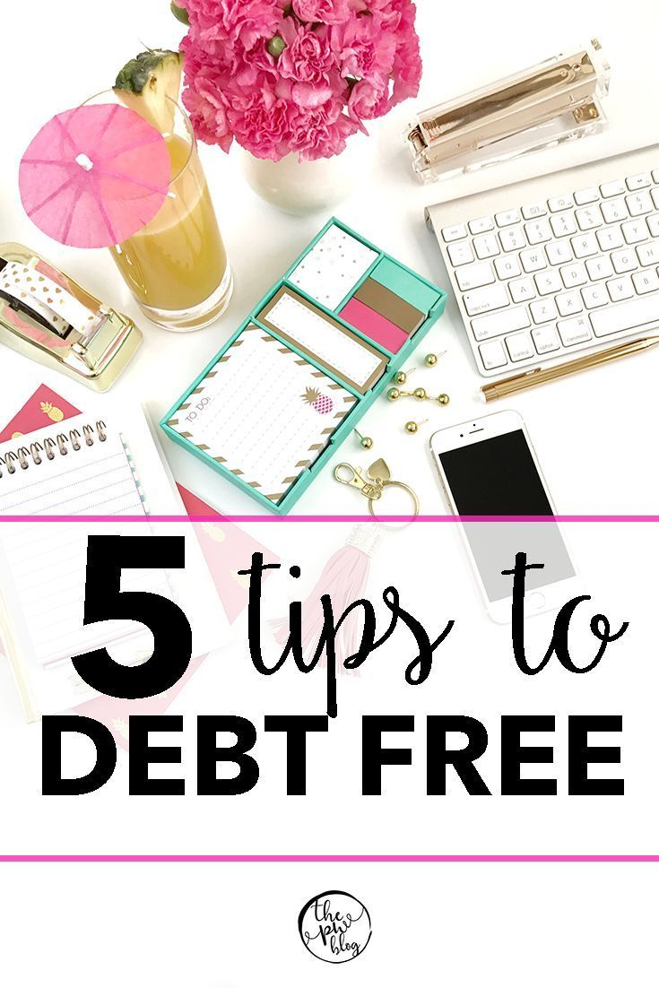 Tips to Becoming Debt Free | How to Live Debt Free