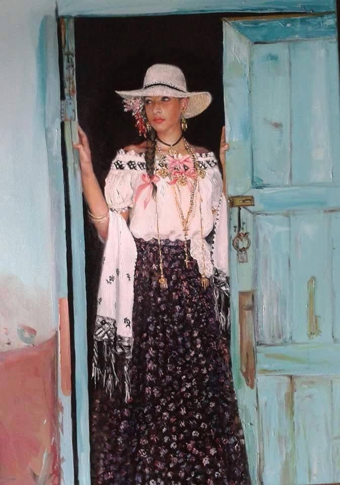 Oleo por Elsy Acosta, Panameña
