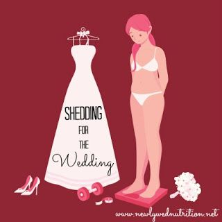 NewlyWed Nutrition : Shedding for the Wedding! Weight lose tips for brides-to-be.