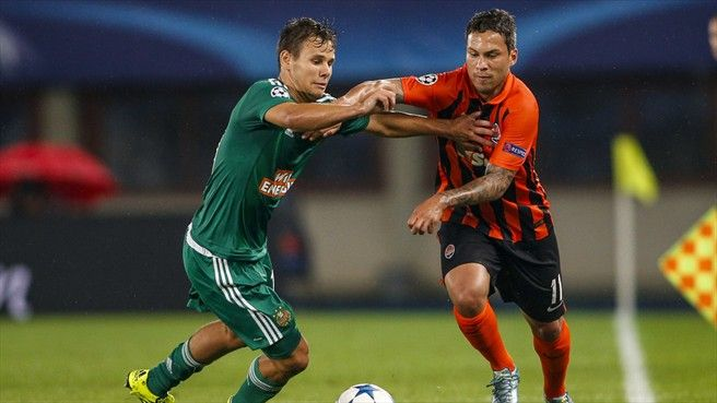 Shakhtar in control after sinking Rapid  Rapid Wien 0-1 Shakhtar