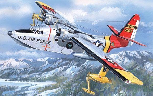 Grumman SH-16B Albatross. A Model, 1/144, injection, No.1414. Price: 13,86 GBP.