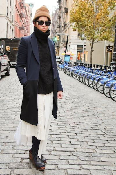 Street Style: Lauren Masters Layering With Comme des Garçons