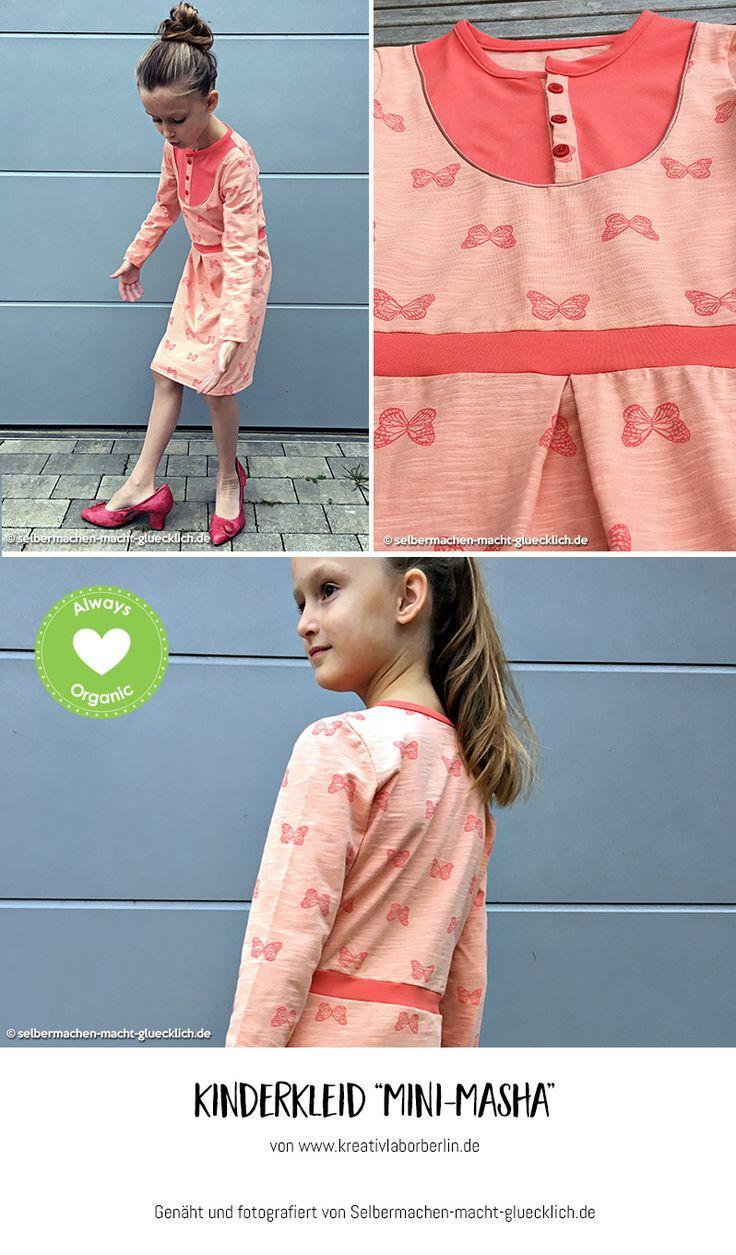 "Mini-Masha von ""Selbermachen macht glücklich"": http://de.dawanda.com/product/106471287-schnittmuster-kleid-shirt-mini-masha-92-164"