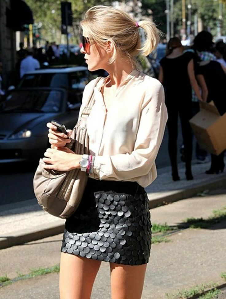 17 Best images about Fashion on Pinterest | Leather mini skirts ...