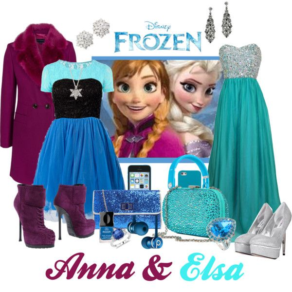 Go to a party together dressed in the Disney Bound outfits of two Disney Best Buds!