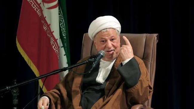 Chairman of Iran's Expediency Council Akbar Hashemi Rafsanjani