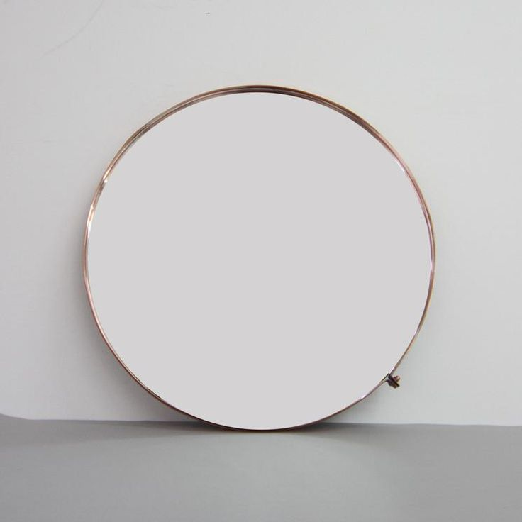 Copper or Brass Large Mirror #worthynzhomeware wwworthy.co.nz