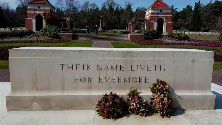 Militair begraafplaats Holten, indrukwekkend Canadese begraafplaats in H...
