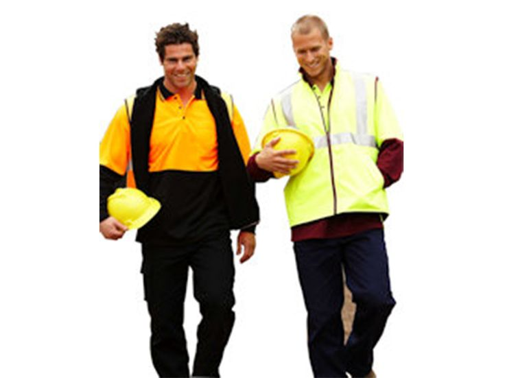 Hi Vis Vest & Logo's if needed www.eliteuniforms.com.au