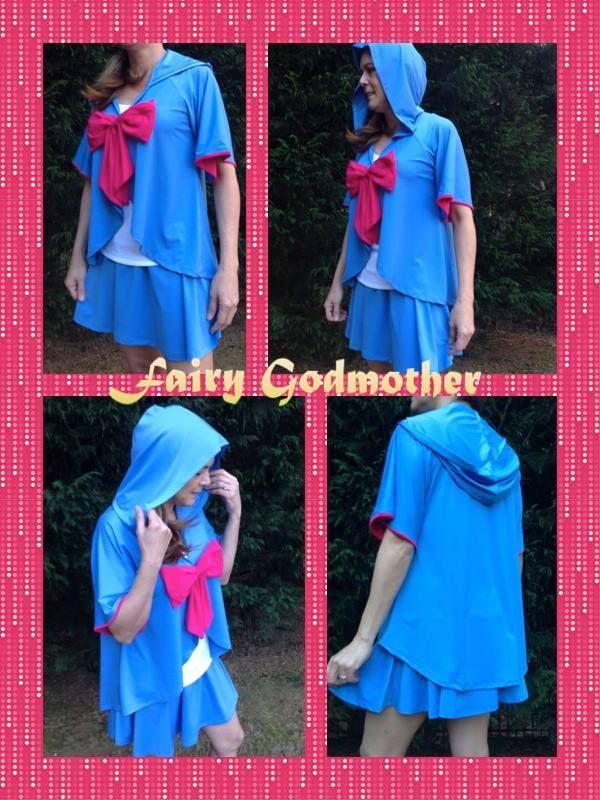 Fairy Godmother running costume
