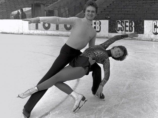 Téli olimpia-Regőczy- Sallay jégtánc