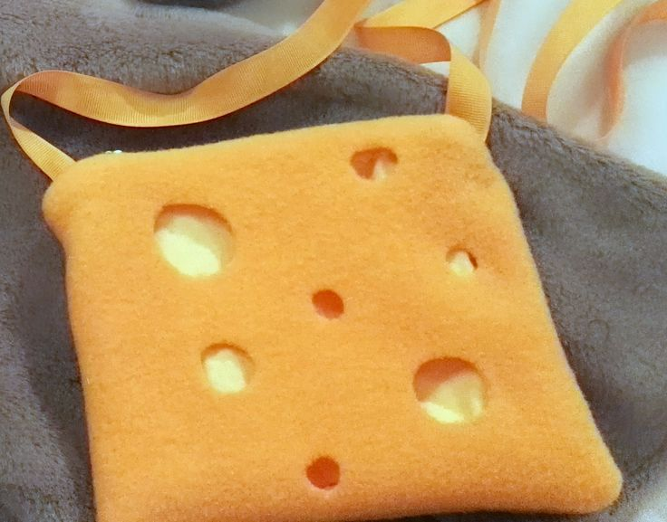 Mouse costume accessories cheese bag