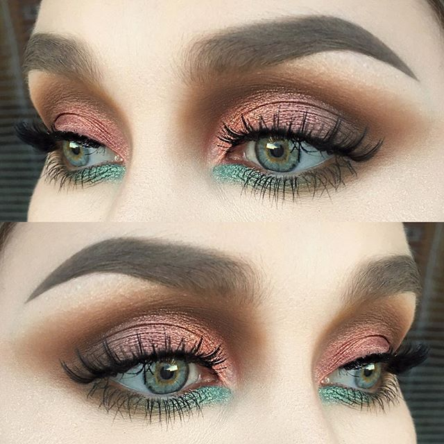 Add some winged eyeliner and it'd be perfect