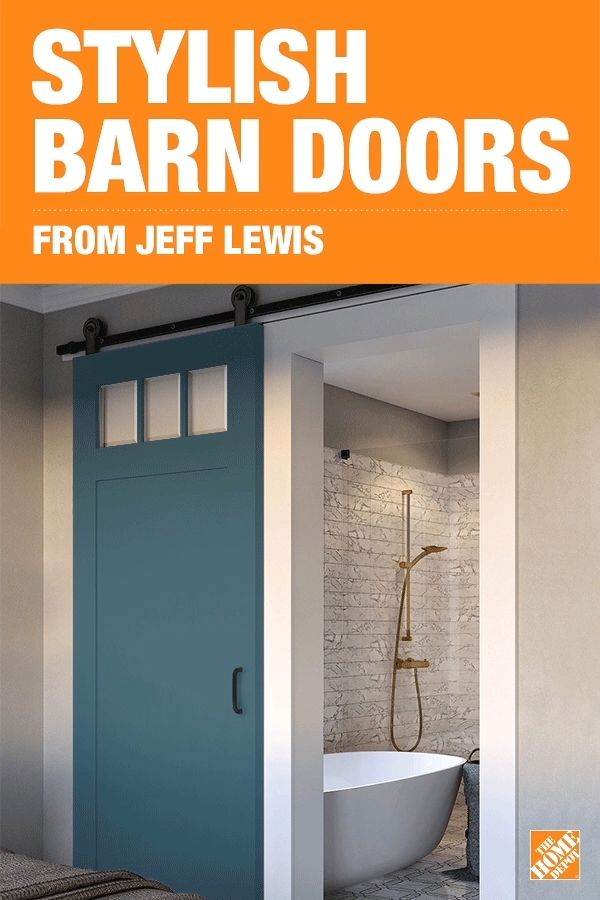 With up to 16 options from Jeff Lewis' chic and classic barn door collection by Masonite, these barn doors are stylish, space-saving solutions for your home. You're sure to find a barn door to fit your home's look. Click to explore the collection, and let a Jeff Lewis barn door add a touch of rustic sophistication to your home.