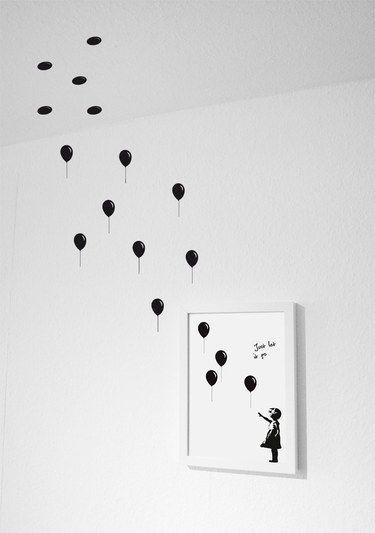 Über das Bild hinaus - kreative Wanddekoration, Wände gestalten / Artprint - Wandsticker (Baby Diy Ideas)