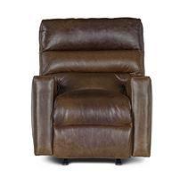 Restoration Vintage Full-Grain Leather Craftsman Power Recliner Chair