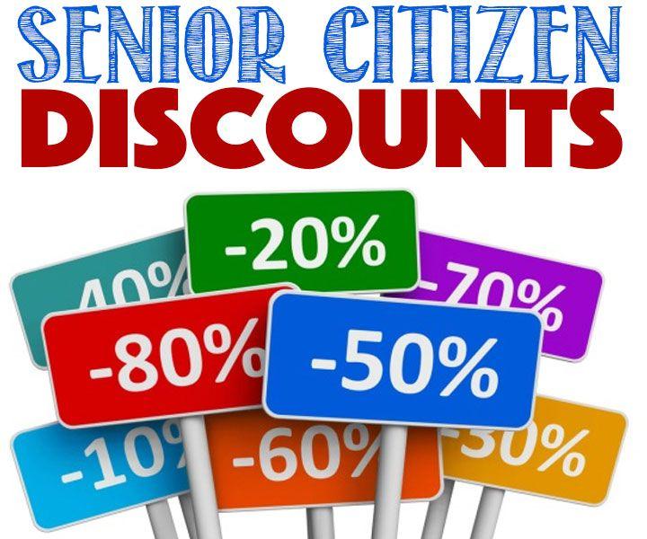 Huge List of Senior Citizen Discounts