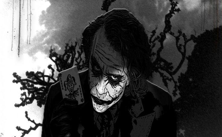 Black Joker HD Wallpaper