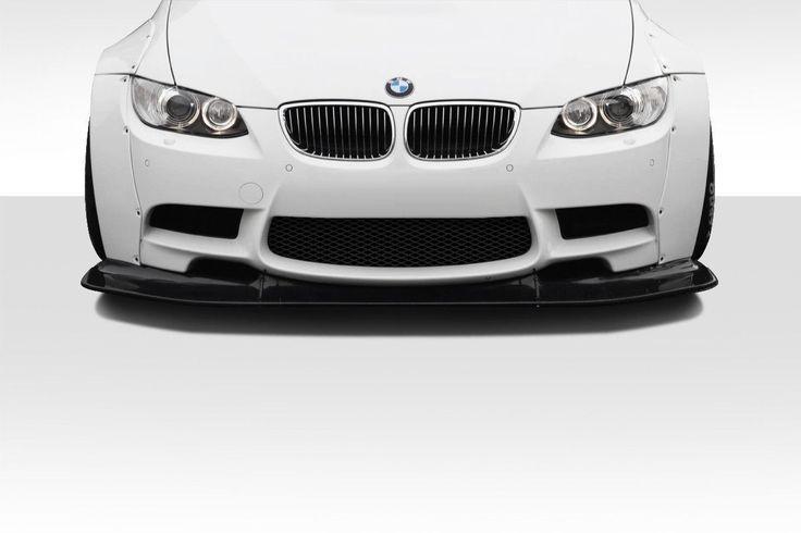 2007-2013 BMW M3 E92 E93 Duraflex Circuit Front Lip Spoiler - 1 Piece