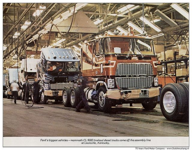 75 Years Ford Motor Company 1978 - Fords biggest vehicles, Mammoth CL-9000 | Flickr - Photo Sharing!