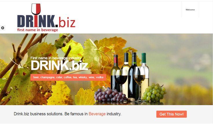 New look of http://DRINK.biz
