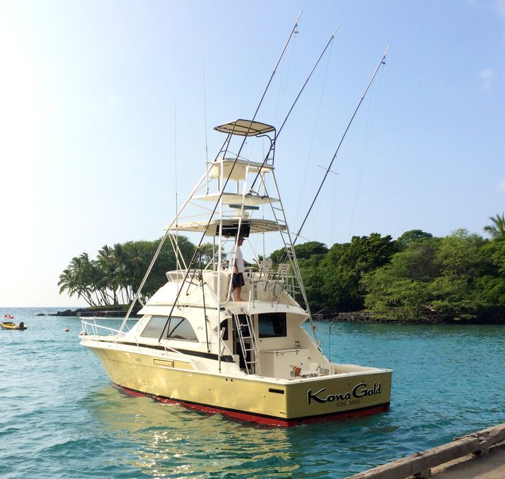 Kona gold fishing boat konagold konasportfishing for Kona fishing charters