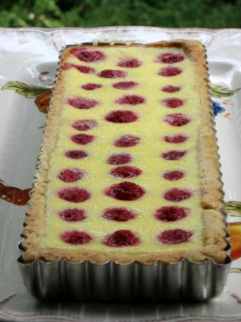Two Terrific Tarts: Chocolate and Raspberry Cream Cheese - Willow Bird Baking