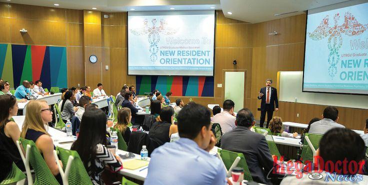 The UTRGV School of Medicine (SOM) welcomed its 56 new medical residents during orientation June 22- 23 at the Edinburg Medical Education Building.