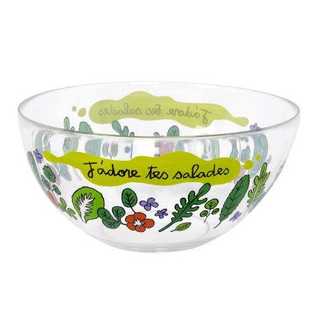 Saladier J'adore tes salades