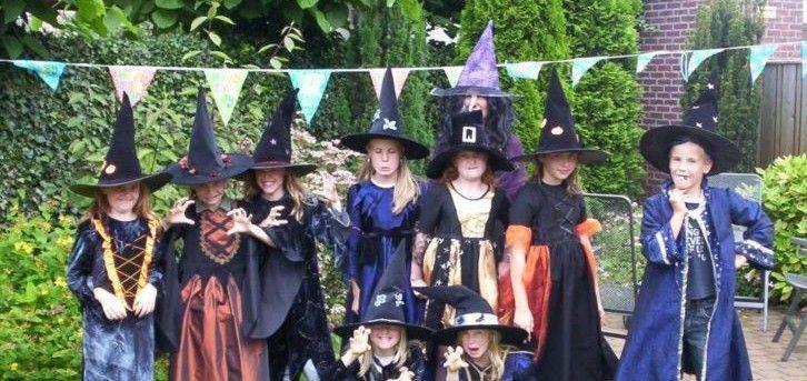 Mede door Harry Potter is een kinderfeestje thuis met als thema heksen populair.
