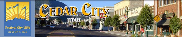 Cedar City, Utah. Home of the Utah Shakespeare Festival and the site of an annual pilgrimage.