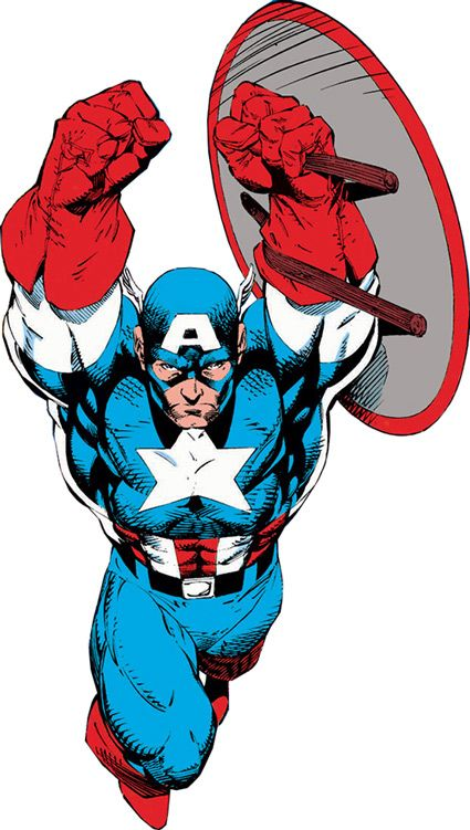 Captain America - Marvel Comics - Avengers - Invaders - Rogers
