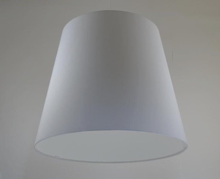 Lampenschirm Weiss Konisch 60 70cm Durchmesser Dawanda With