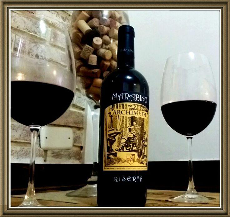 Vinho Siciliano ARCHIMEDE  RISERVA 2010 - um vinho biodinâmico entre os melhores vinhos da Sicilia!!! www.chavesoliveira.com.br/ (11) 2155 0871