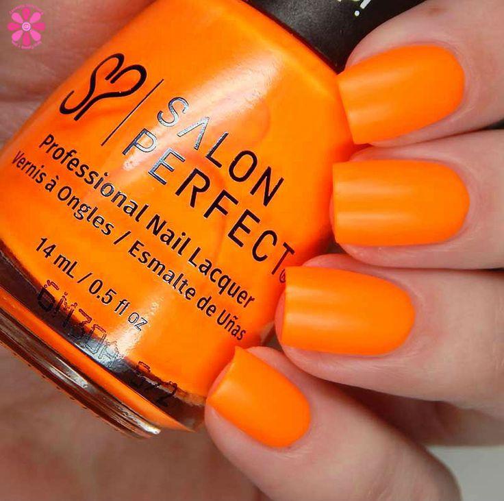 Salon Perfect Neon POP Summer 2017 Collection Neon nail