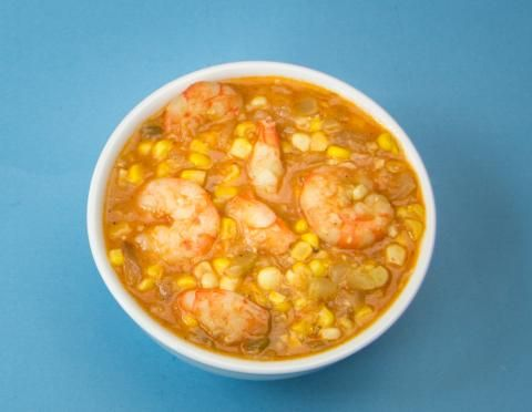 Louisiana Shrimp and Corn Soup