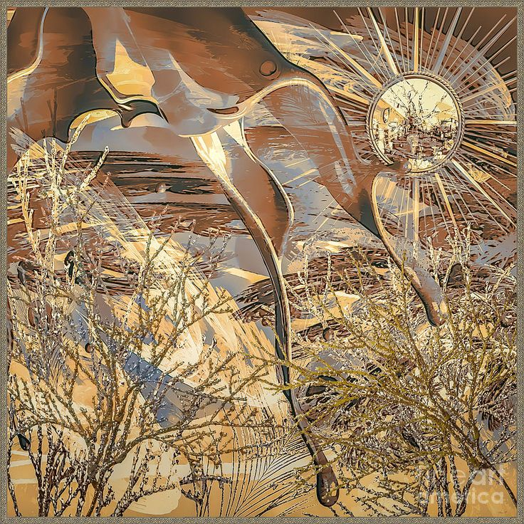 Golden Dream Digital Art - Golden Dream by Eleni Mac Synodinos