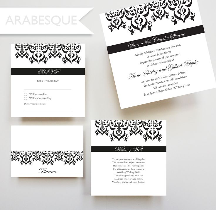 110 best our wedding invitation designs images on pinterest arabesque invitation wishing well card placecard rsvp card wedding engagement stopboris Image collections