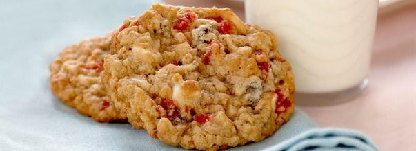 Recette de Sucre à la Crème - Biscuits au Gruau Croquants Forêt-Noire - Poitrine de Poulet et Épinards au Gratin