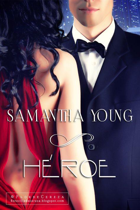 P R O M E S A S D E A M O R: Reseña | Héroe, Samantha Young (FanArt realizado por FlordeCereza - Créditos de Promesas de Amor)