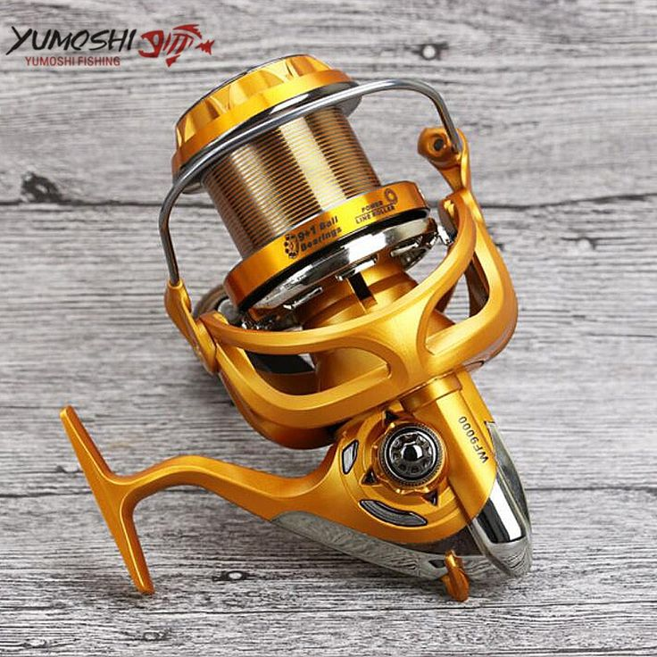 66.50$  Buy here - http://aliow0.worldwells.pw/go.php?t=32788389028 - Pesca Big Sea Fishing Reel Carretilhas de pecasaria 10BB 5.5:1 Molinete para Dstant Long Shot Spinning Reel fishing accessories 66.50$