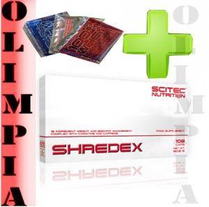 Cena: 86,00 zł SCITEC SHREDEX 108 kaps , spalacz tłuszczu  próbka