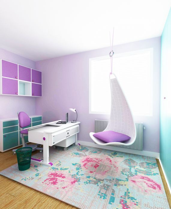 8 year old girl's room / Spoiwo Studio