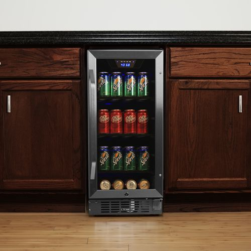 EdgeStar 80 Can Built-In Beverage Cooler Secondary Image
